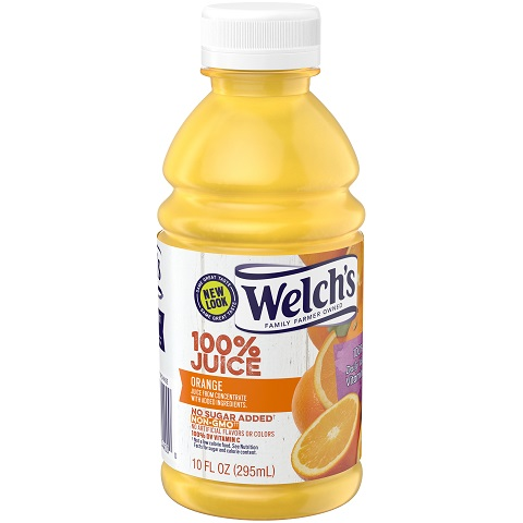 Welch's Orange Juice 10oz thumbnail