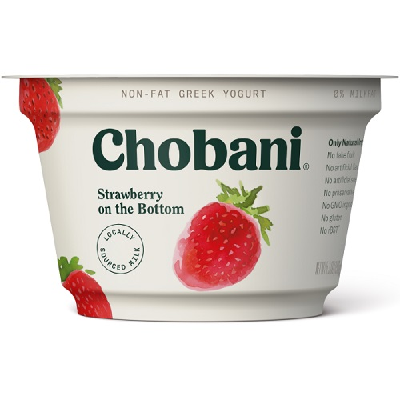 Chobani Greek Yogurt Strawberry thumbnail