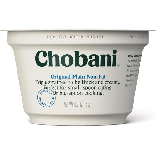 Chobani Greek Yogurt (Variety) thumbnail