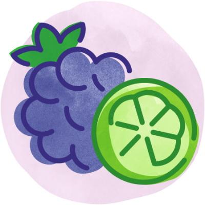 BEVI Blackberry Lime thumbnail