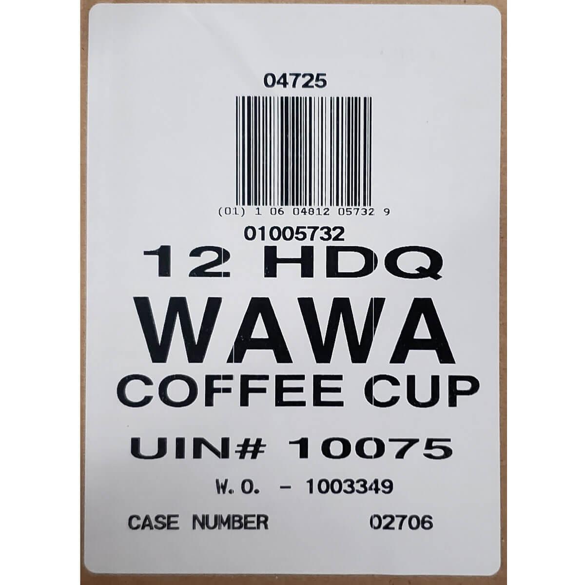 Wawa 12oz Cup thumbnail