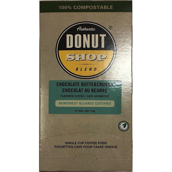 Authentic Donut Shop Pods Chocolate Buttercrunch 16 ct thumbnail