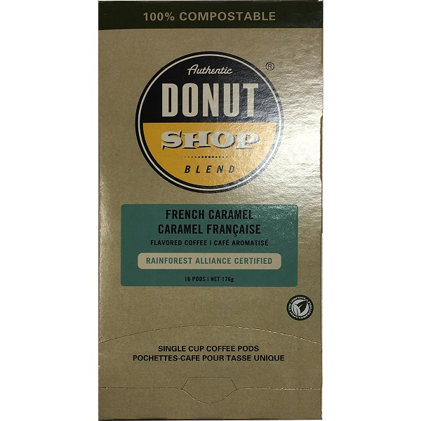 Authentic Donut Shop Pods French Caramel 16 ct thumbnail