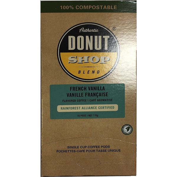 Authentic Donut Shop Pods French Vanilla 16 ct thumbnail