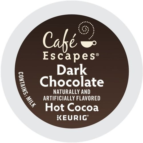 K-Cup Cafe Escapes Dark Hot Chocolate thumbnail