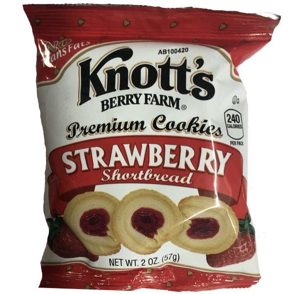 Knott's Strawberry Shortbread thumbnail