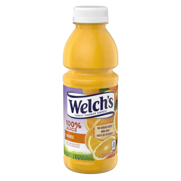 Welch's Orange Juice 16oz thumbnail
