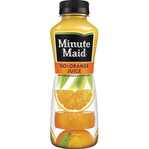 Minute Maid Orange Juice 12oz thumbnail