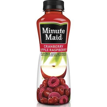 Minute Maid Cranberry Apple Raspberry 12oz thumbnail