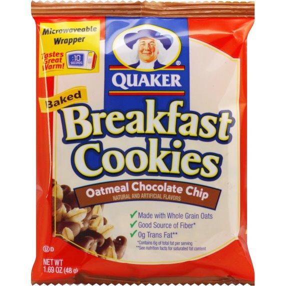 Quaker Breakfast Chocolate Chip Cookie 1.69oz thumbnail