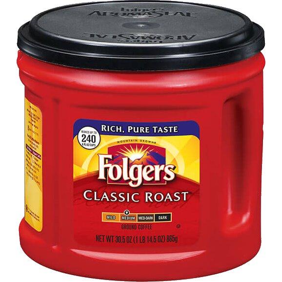 Folgers Classic Roast Tub thumbnail