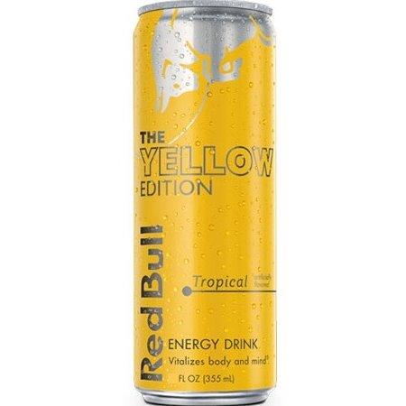Red Bull Yellow Tropical 8.4 oz thumbnail