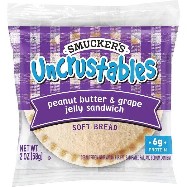 Smuckers Uncrustables Grape thumbnail