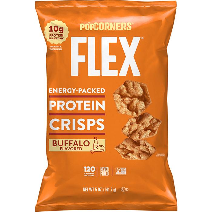 LSS Popcorners Hot Buffalo Protein Crisps thumbnail