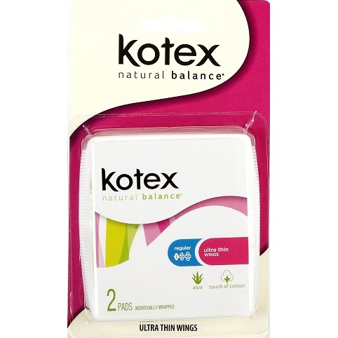 Kotex Ultra Thin Pads 2ct thumbnail