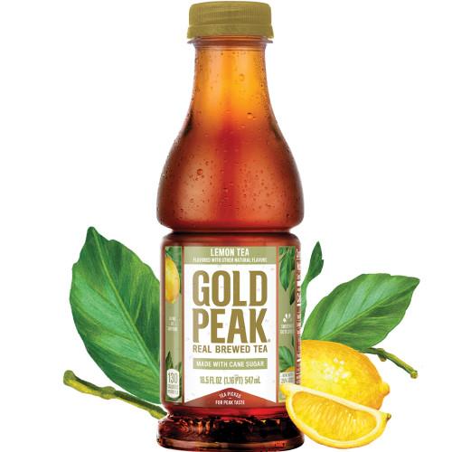 Gold Peak Lemon Tea 18.5oz thumbnail