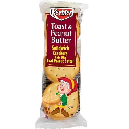 Keebler Toast & Peanut Butter Crackers 1.8oz thumbnail