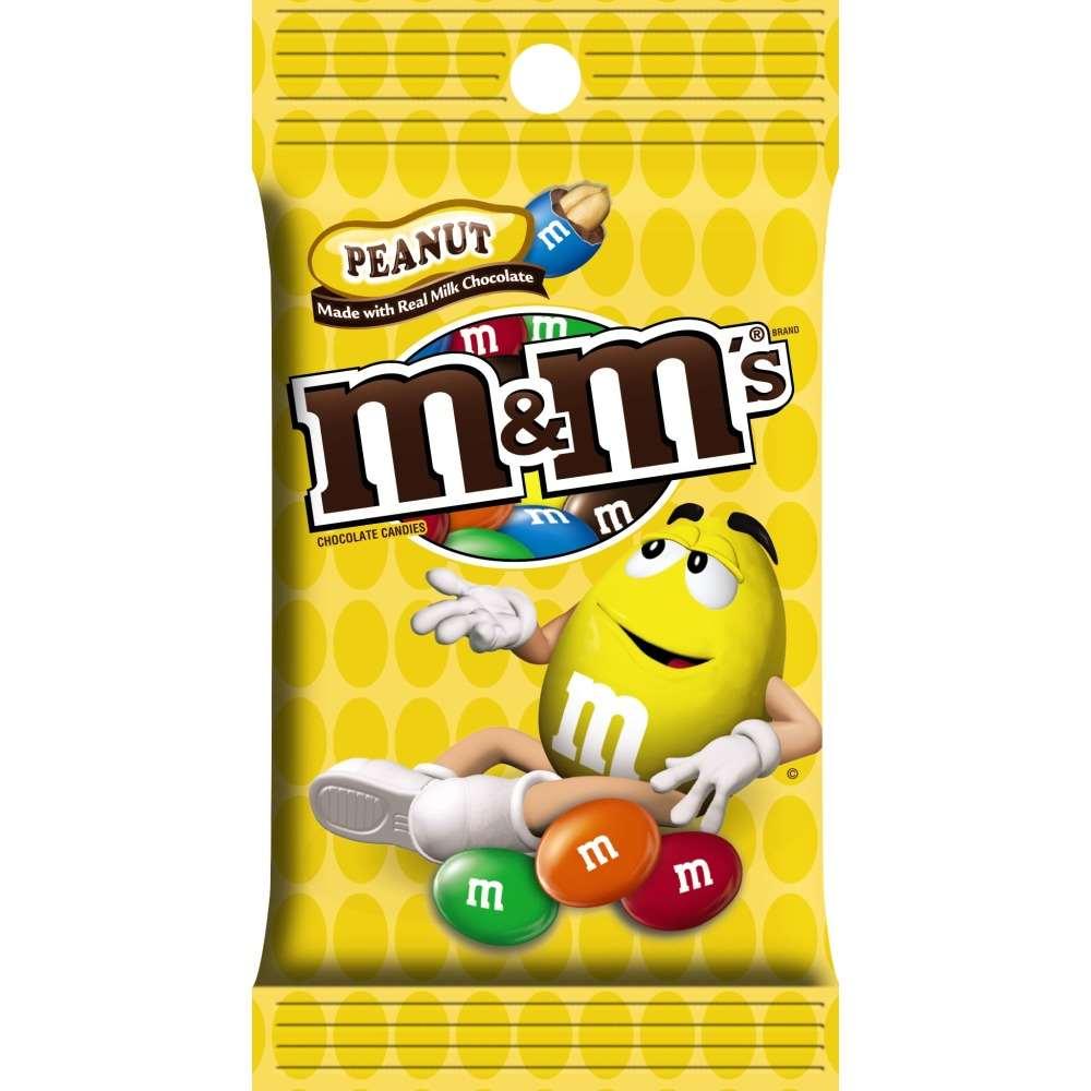 M&Ms Peanut Peg Bag 5.3oz thumbnail