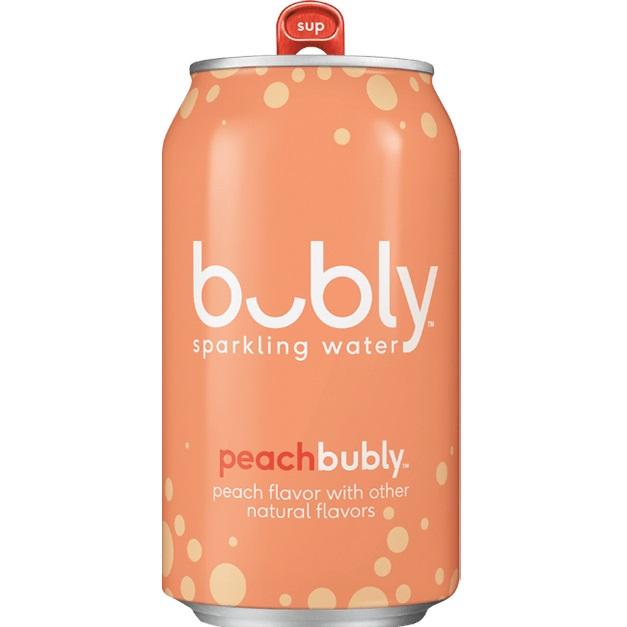 Bubly Peach 12oz thumbnail