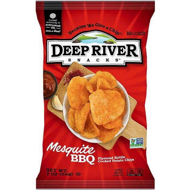 Deep River Mesquite BBQ Kettle Chip 2oz thumbnail