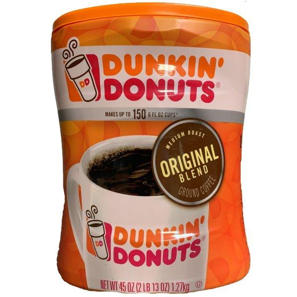 Dunkin Donuts Original Ground 45oz thumbnail