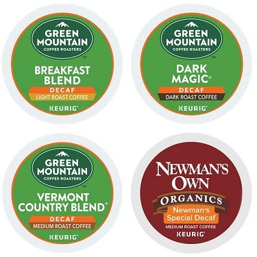 K-Cup Green Mtn Decaf Coffee Sampler thumbnail
