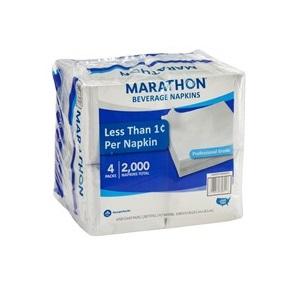 Marathon Beverage Napkins 2000ct thumbnail