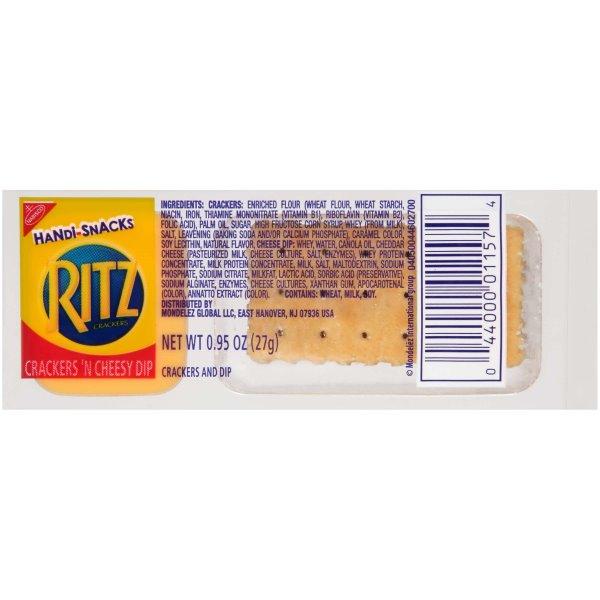 Ritz Crackers n Cheesy Dip 30ct thumbnail