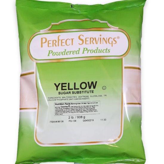 Perfect Servings Yellow Sugar Substitute 2lb thumbnail