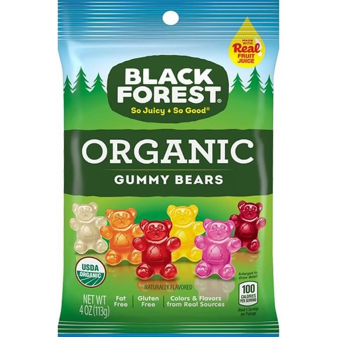 Black Forest Organic Gummy Bears 4oz thumbnail
