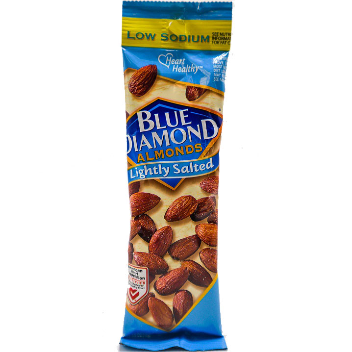 Blue Diamond Almonds Lightly Salted 1.5oz thumbnail