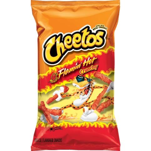 Cheeto's Flamin Hot Crunchy thumbnail