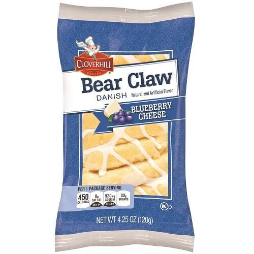 Cloverhill Blueberry Cheese Danish Claw thumbnail