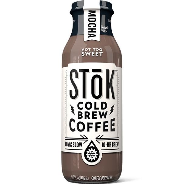 Stok Cold Brew Coffee Mocha 13.7oz thumbnail