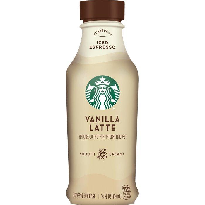 Starbucks Coffee Vanilla Latte 14oz thumbnail