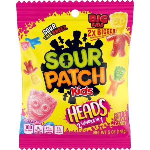 Sour Patch Kids Heads 5oz thumbnail