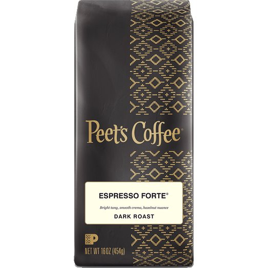 Peet's Coffee Espresso Forte Whole Bean 1lb thumbnail