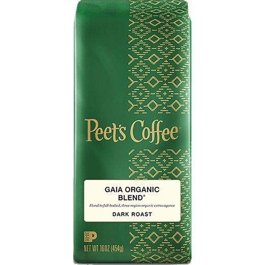 Peet's Coffee Gaia Organic Blend Whole Bean 1lb thumbnail