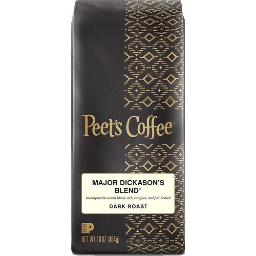 Peet's Coffee Major Dickinson Blend Whole Bean 1lb thumbnail