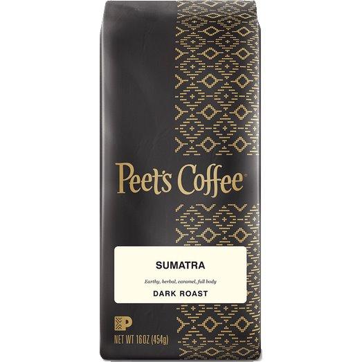 Peet's Coffee Sumatra Whole Bean 1lb thumbnail