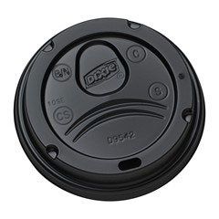 10-20oz Dixie Perfect Touch Hot Cup Lid thumbnail