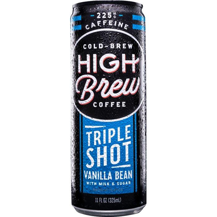 High Brew Triple Shot Vanilla Bean 11oz thumbnail