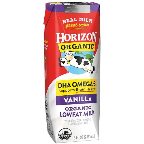 Horizon Organic Vanilla Milk 8oz thumbnail