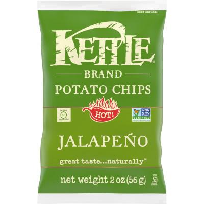 Kettle Brand Jalapeno Chips 2oz thumbnail
