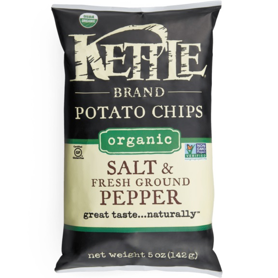 Kettle Brand Salt & Pepper 2oz thumbnail
