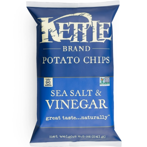 Kettle Brand Sea Salt & Vinegar 1oz thumbnail