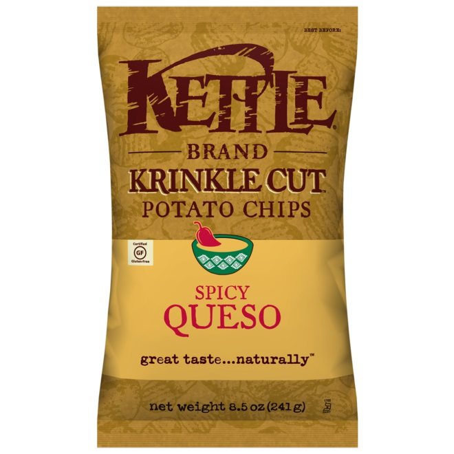 Kettle Brand Spicy Queso 2oz thumbnail