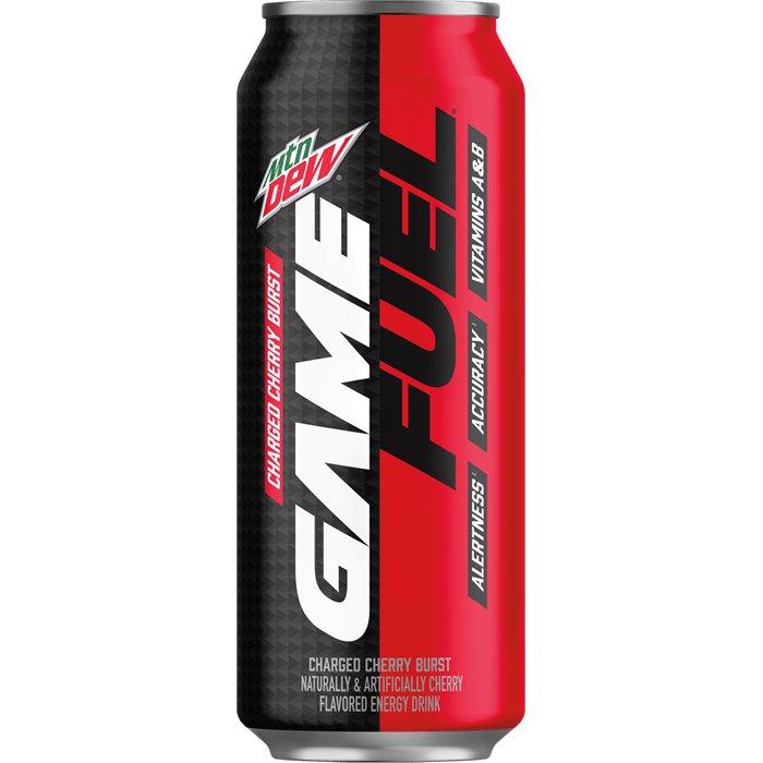 Mountain Dew Game Fuel Charged Cherry Burst 16oz thumbnail