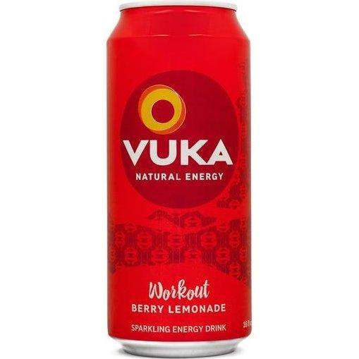 Vuka Workout Berry Lemonade 16oz thumbnail