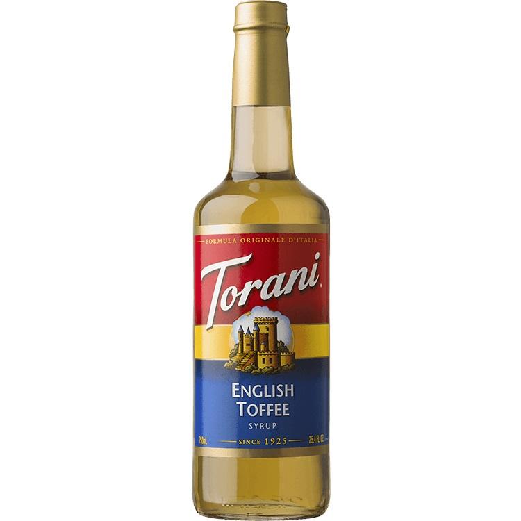 Torani English Toffee 750 ml thumbnail
